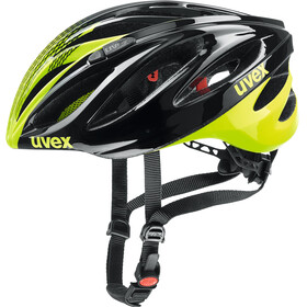 UVEX Boss Race Helmet black-neon yellow